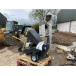 """BRAND NEW AND UNUSED HANER HHH150E WOOD CHIPPER, TAKES 4.5"""" WOOD, FULLY ASSEMBLED READY FOR WORK"""