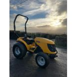 JCB 323 HST COMPACT TRACTOR, RUNS, DRIVES, 3 POINT LINKAGE *PLUS VAT*