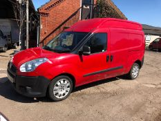 2013 FIAT DOBLO 16V XL MULTIJET LWB, 1.6 DIESEL ENGINE, SHOWING 0 PREVIOUS KEEPERS *PLUS VAT*