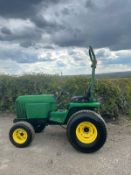 JOHN DEERE 955 COMPACT TRACTOR, RUNS WORKS AND DRIVES, 3 POINT LINKAGE, REAR PTO *PLUS VAT*