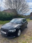 2016 (66) AUDI A3 SE TECHNIK TDI, BLACK 5 DOOR HATCHBACK, 1.6 DIESEL ENGINE *NO VAT*