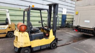 1989 HYSTER S2.00XL 2 TON GAS POWERED FORKLIFT, RUNS DRIVES AND LIFTS *PLUS VAT*