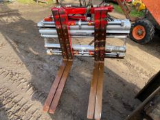 2012 DURWEN CLASS 3 FORK POSITIONER WORKING ORDER *PLUS VAT*