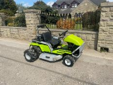 GRILLO CLIMBER 921 RIDE ON LAWN MOWER, JUST HAD A NEW BATTERY AND ALL NEW BELTS *NO VAT*