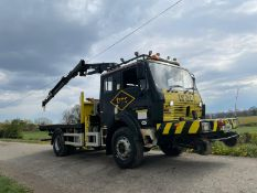 1991 MERCEDES-BENZ CVS 1617 AK RAILWAY LORRY WITH CRANE, ROAD REGISTERED *PLUS VAT*