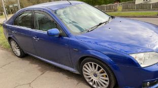 2007/07 REG FORD MONDEO ST TDCI 2.2 DIESEL BLUE 5 DOOR, SHOWING 4 FORMER KEEPERS *NO VAT*