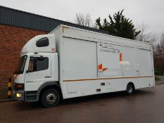 2004 (54) MERCEDES ATEGO 1623L TWIN DECK CAR TRANSPORTER, 12.5 TON *PLUS VAT*