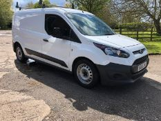 2016 FORD TRANSIT CONNECT 210 WHITE PANEL VAN, 1499CC DIESEL ENGINE, 118,445 MILES *PLUS VAT*