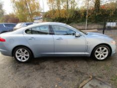2010 (10) JAGUAR XF LUXURY V6 4 DOOR SALOON, 3.0 PETROL ENGINE, 68.900 MILES *NO VAT*