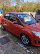 2013 FORD C-MAX TITANIUM TDCI MPV, 2.0 DIESEL ENGINE, MANUAL 6 GEARS *NO VAT*