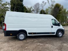 2015 CITROEN RELAY 35 HEAVY L4H2 EPRISE HDI WHITE PANEL VAN, L4 MODEL, 2.2 DIESEL ENGINE, 81K MILES