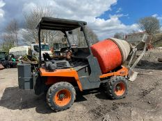 MZ Imer 1000 Self Loading Mixer, Runs Drives And Works, Showing 3029 Hours, All Terrain Tyres