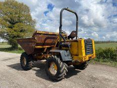 Barford SX7000 Dumper, Runs Drives And Tips, 7 Ton, Straight Tip, Hydraulic Shuttle *PLUS VAT*