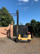 HYSTER S2.00 XL GAS POWERED FORKLIFT, RUNS, WORKS AND LIFTS *PLUS VAT*