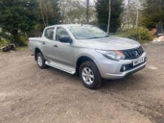 2017 (17) MITSUBISHI L200 4LIFE DI-D PICK-UP, 4X4, 44000 MILES, SHOWING 0 PREVIOUS KEEPERS *PLUS VAT