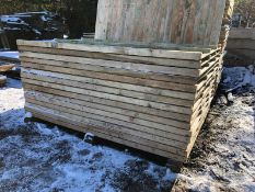 20 X 4FT Packs of FEATHER EDGE fence panels ! All brand new and treated, PACKS OF 20 *NO VAT*