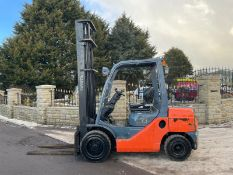 2013 TOYOTA TONERO 30 FORKLIFT, RUNS, DRIVES AND LIFTS, LOW 4720 HOURS *PLUS VAT*