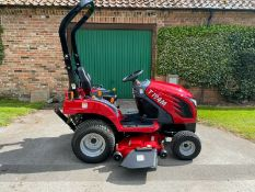 "TYM T194M COMPACT TRACTOR. 54"" CUT ROTARY DECK, 4X4, HYDRO DRIVE, ONLY 119 HOURS, YEAR 2019 PLUS VAT"