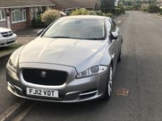 2012 (12) JAGUAR XJ V8 SUPERCHARGED SUPERSPORT 5.0 PETROL ENGINE, AUTOMATIC, 25,460 MILES *NO VAT*