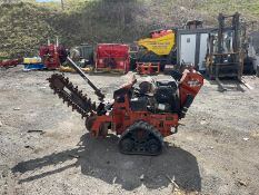 2015 Ditch witch RT20 Trencher, Runs Drives And Works, Honda V Twin Engine Electric Start *PLUS VAT