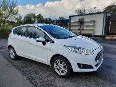 2016 FORD FIESTA ZETEC TURBO WHITE 5 DOOR HATCHBACK, 1.0 PETROL ENGINE, ONLY 16,414 MILES *NO VAT*