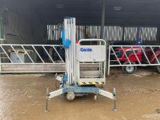 Genie AWP-19 Electric Scissor Lift Maximum Height 19FT High 4 Support Legs *PLUS VAT*