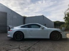 2014 PORSCHE GT3, CLUB SPORT ROLL CAGE, RACE SEATS CARBON KIT, 29,000 MILES, FULL PORSCHE HISTORY