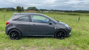 2015 VAUXHALL CORSA LIMITED EDITION GREY 3 DOOR HATCHBACK, 1.4 PETROL ENGINE, 33,742 MILES *NO VAT*