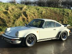 1982 WHITE PORSCHE 930 TURBO, 4SP MANUAL GEARBOX, FULL RESTORATION/REBUILD - SEE VIDEOS