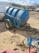 2500 LITRE WATER BOWSER WITH BRAKES *PLUS VAT*