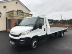 2017 IVECO DAILY 72.180 RECOVERY TRUCK SLIDE AND TILT EURO 6, 3.0 DIESEL ENGINE *PLUS VAT*