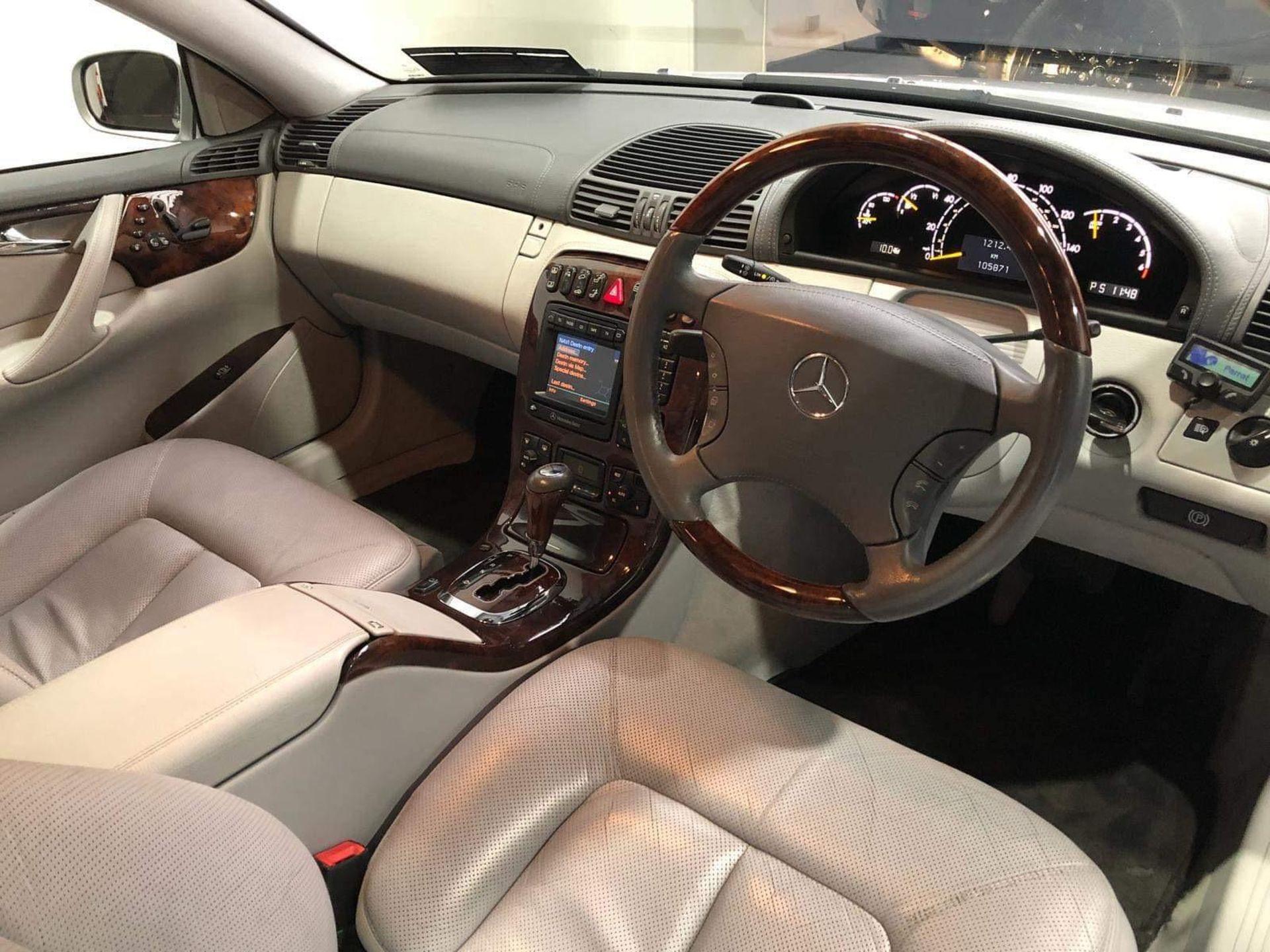 2001 Mercedes-Benz CL500 CLASS, SPORT, SOUTHERN REG, TOP SPEC, NO VAT - Image 10 of 10