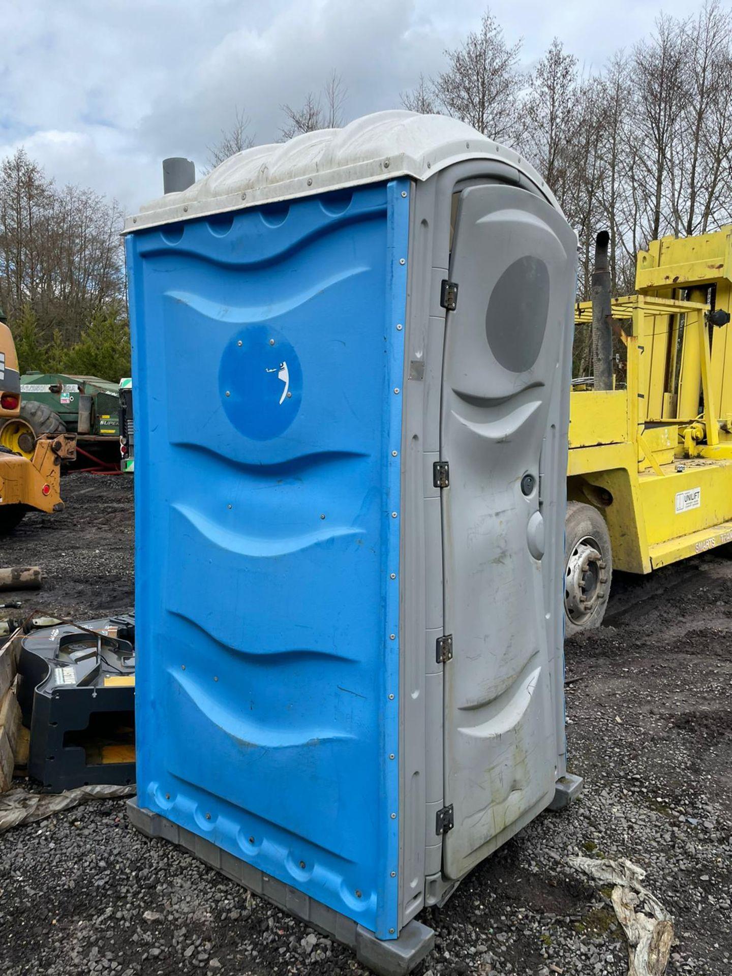 Portaloo Toilet Block, Door Is Bent, plus VAT
