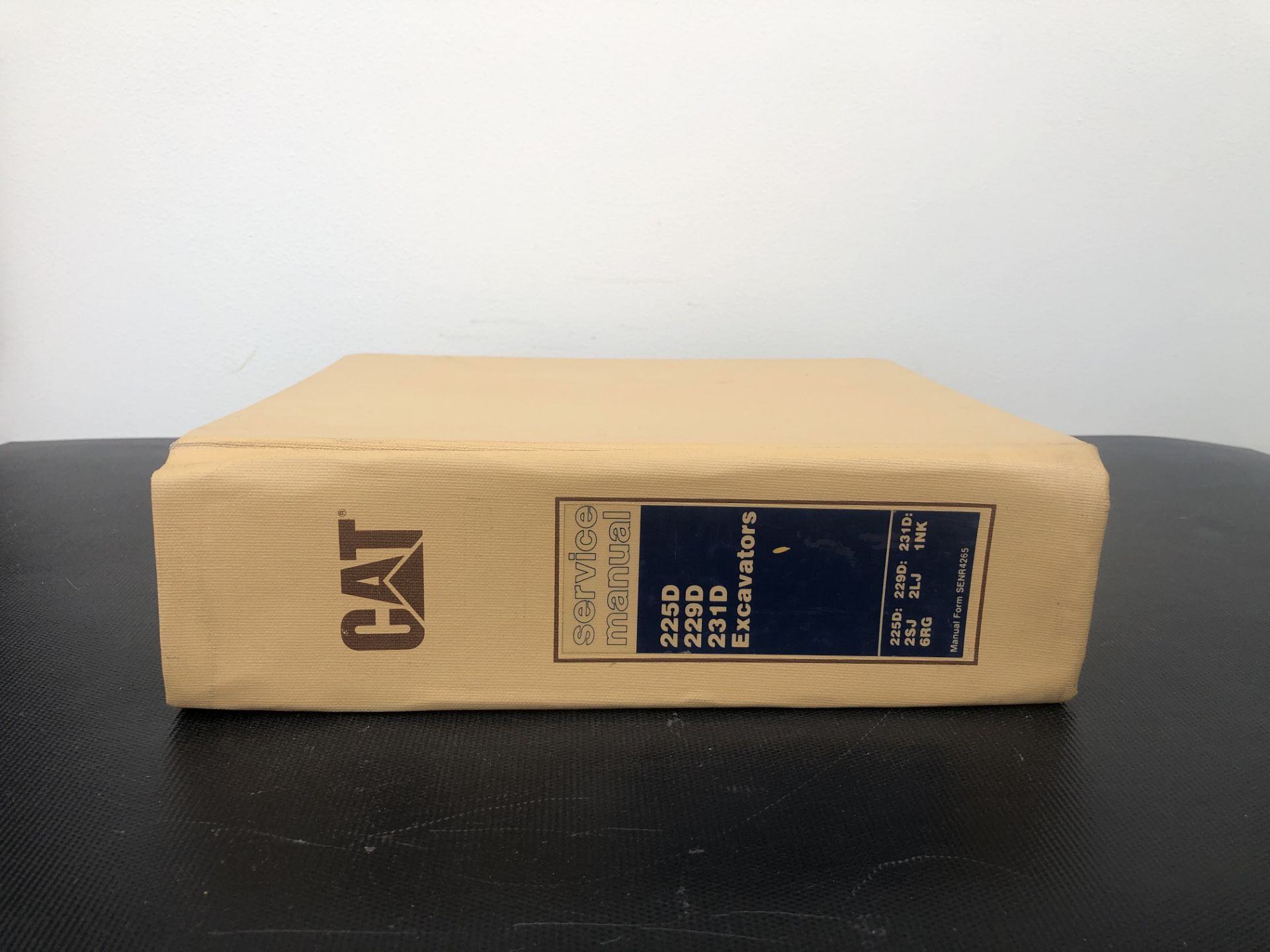 CATERPILLAR 225D 229D 231D BOOK 2 SERVICE MANUAL, GENUINE FACTORY CAT WORKSHOP MANUAL