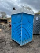 PORTALOO TOILET BLOCK, PLUS VAT