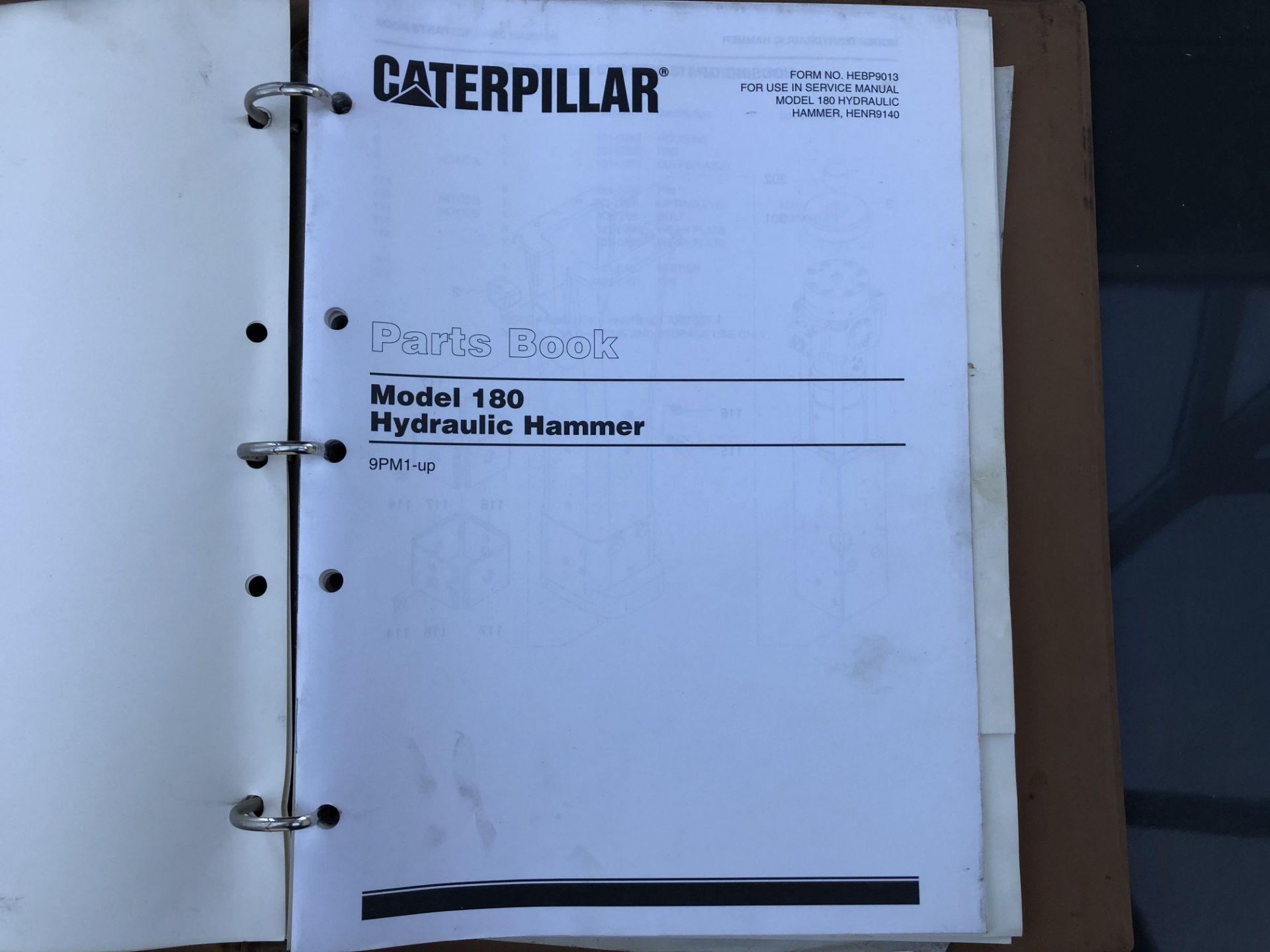CATERPILLAR MODEL 180 HAMMER SERVICE MANUAL, GENUINE FACTORY CAT WORKSHOP MANUAL - Image 2 of 8