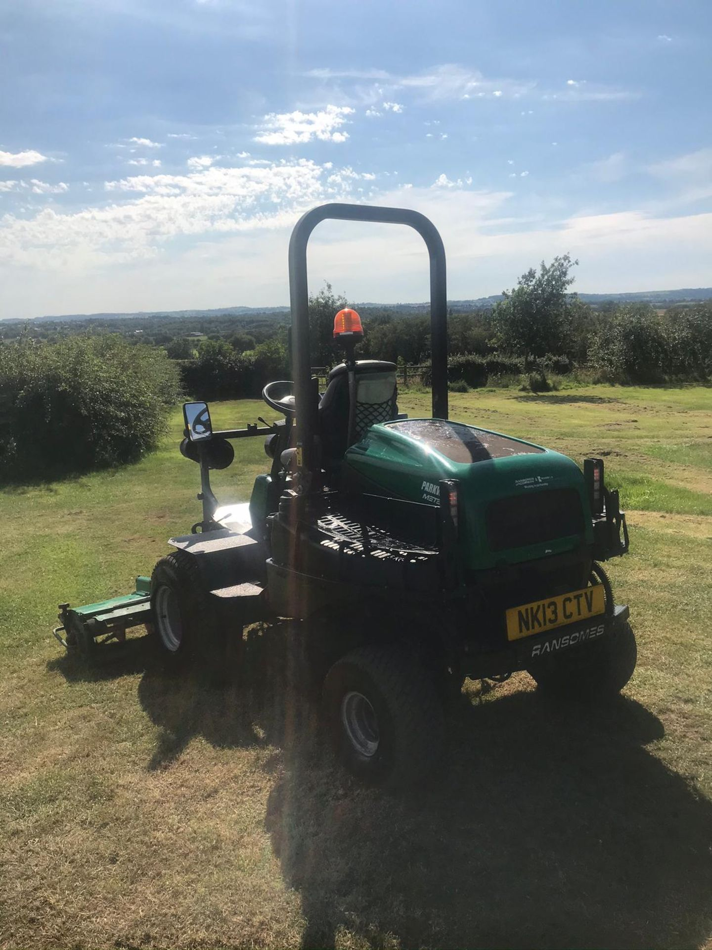 2013 RANSOMES PARKWAY 3, RUNS, DRIVES AND CUTS, ROAD LEGAL *PLUS VAT* - Image 4 of 4