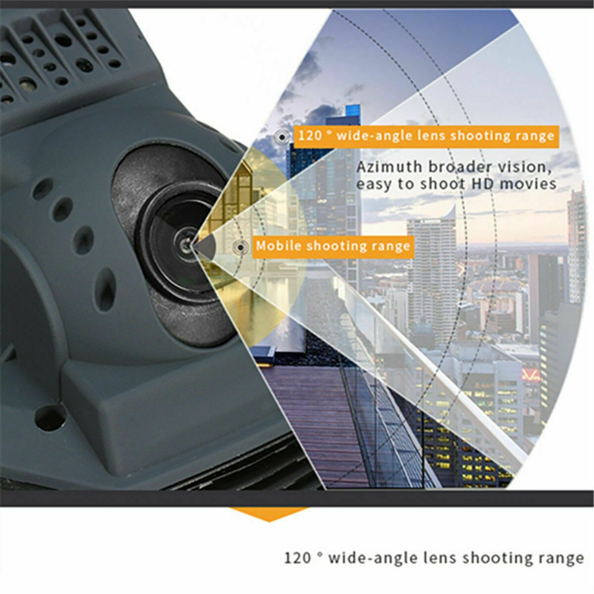 NEW & UNUSED DRONE X PRO WIFI FPV 1080P HD CAMERA FOLDABLE RC QUADCOPTER + BAG *PLUS VAT* - Image 8 of 12