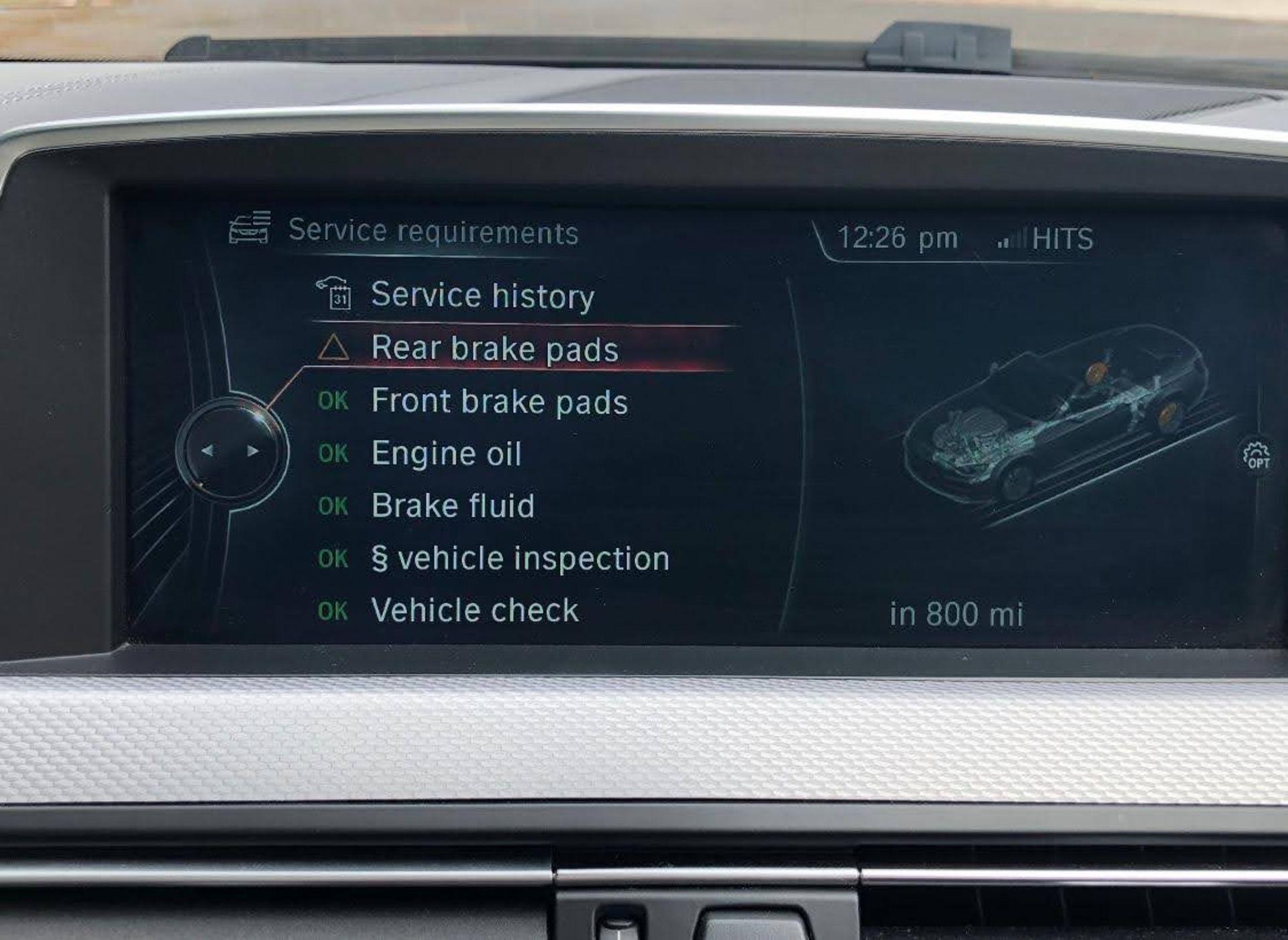 2014/14 REG BMW 640D M SPORT AUTOMATIC 3.0 DIESEL BLACK CONVERTIBLE *NO VAT* - Image 15 of 17