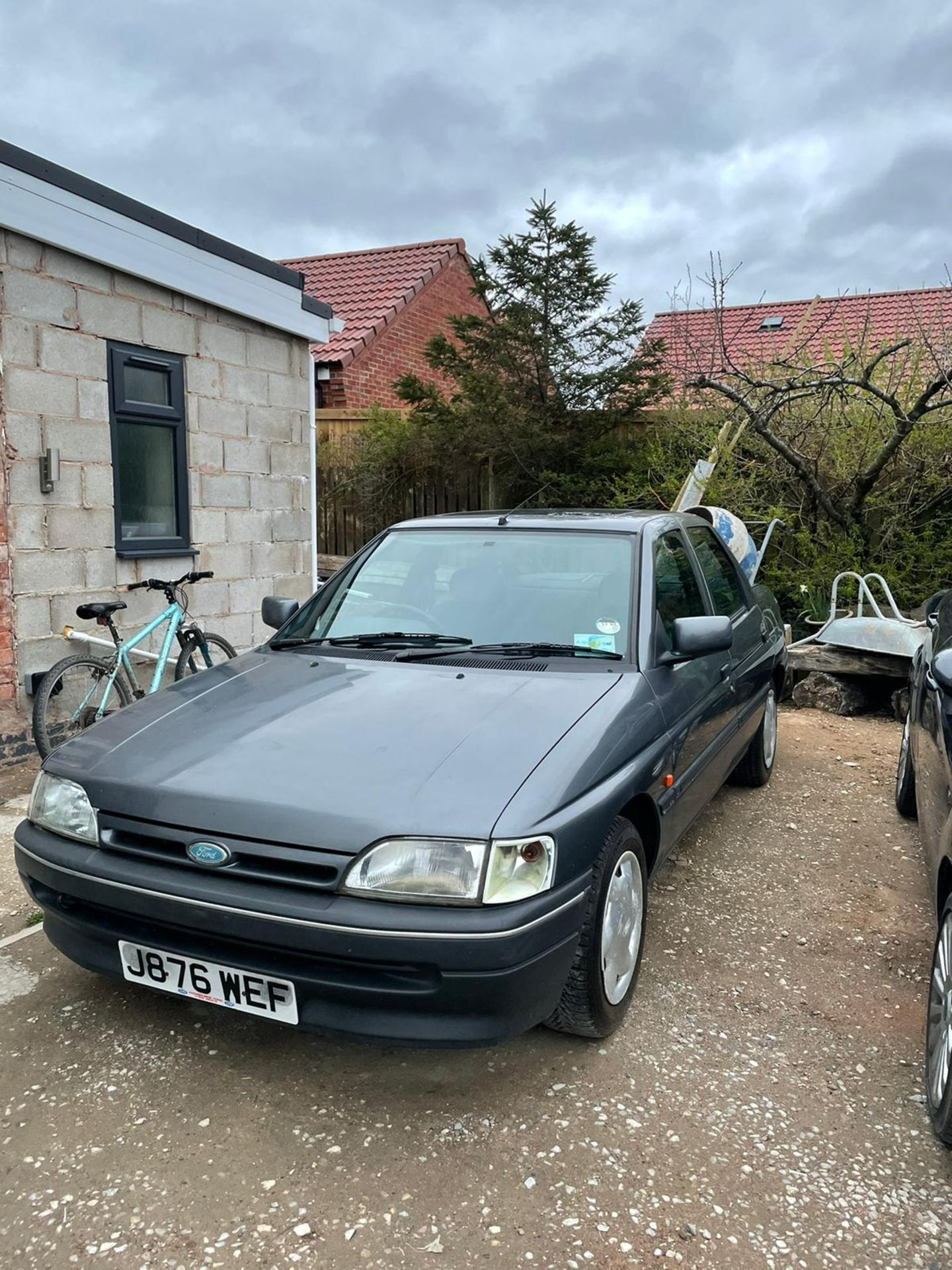 1992 FORD ORION LX AUTO, GREY, PETROL, AUTO VARIABLE 1 GEARS, 4 PREVIOUS KEEPERS, NO VAT - Image 3 of 8