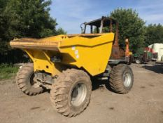2017 WACKER NEUSON 9 TONNE DUMPER, BURNT OUT, NEW SELLING AS SPARES *PLUS VAT*
