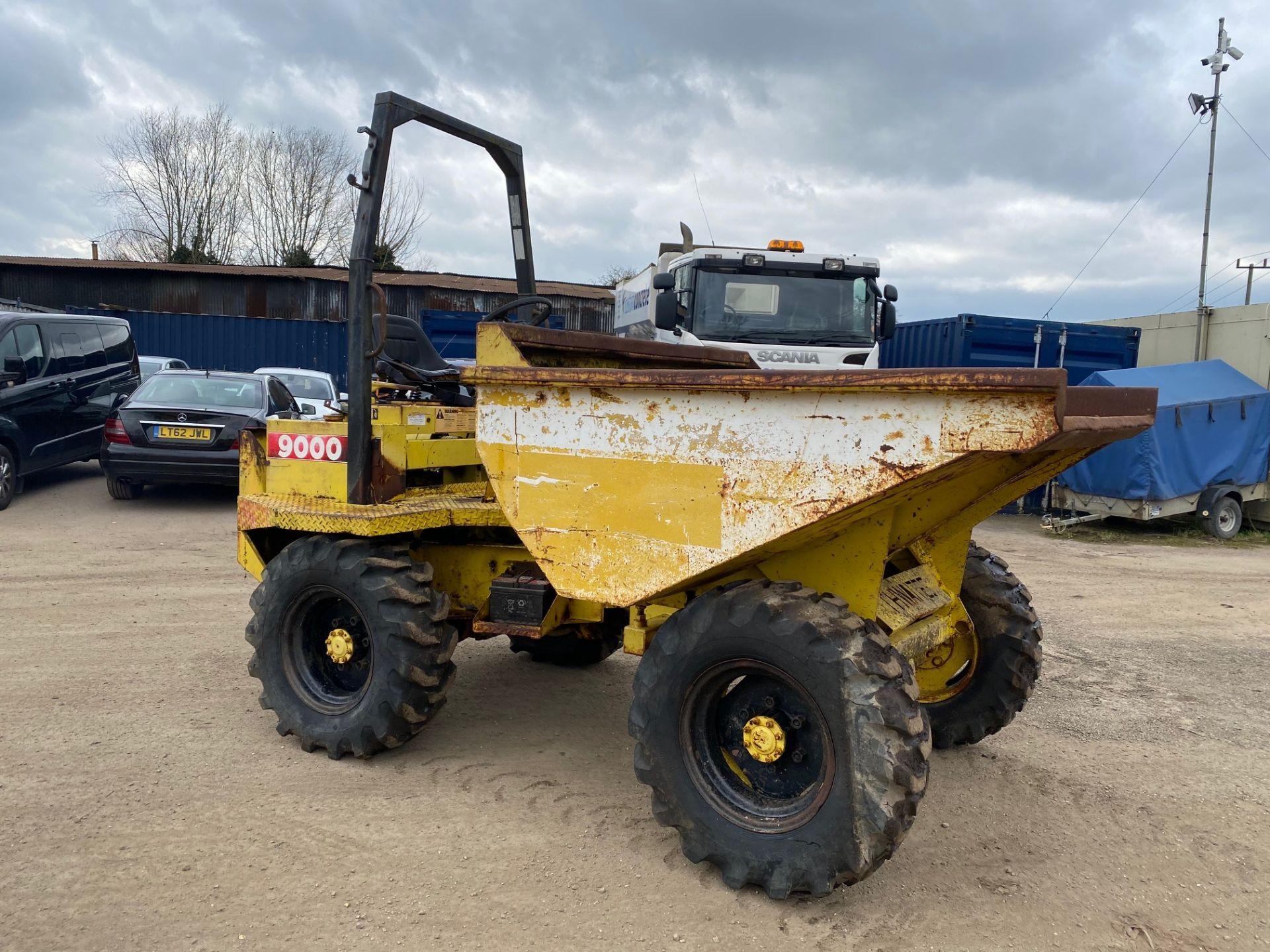 Thwaites 4 ton dumper, 4x4, electric start, Roll bar, 3 cylinder Lister Petter engine