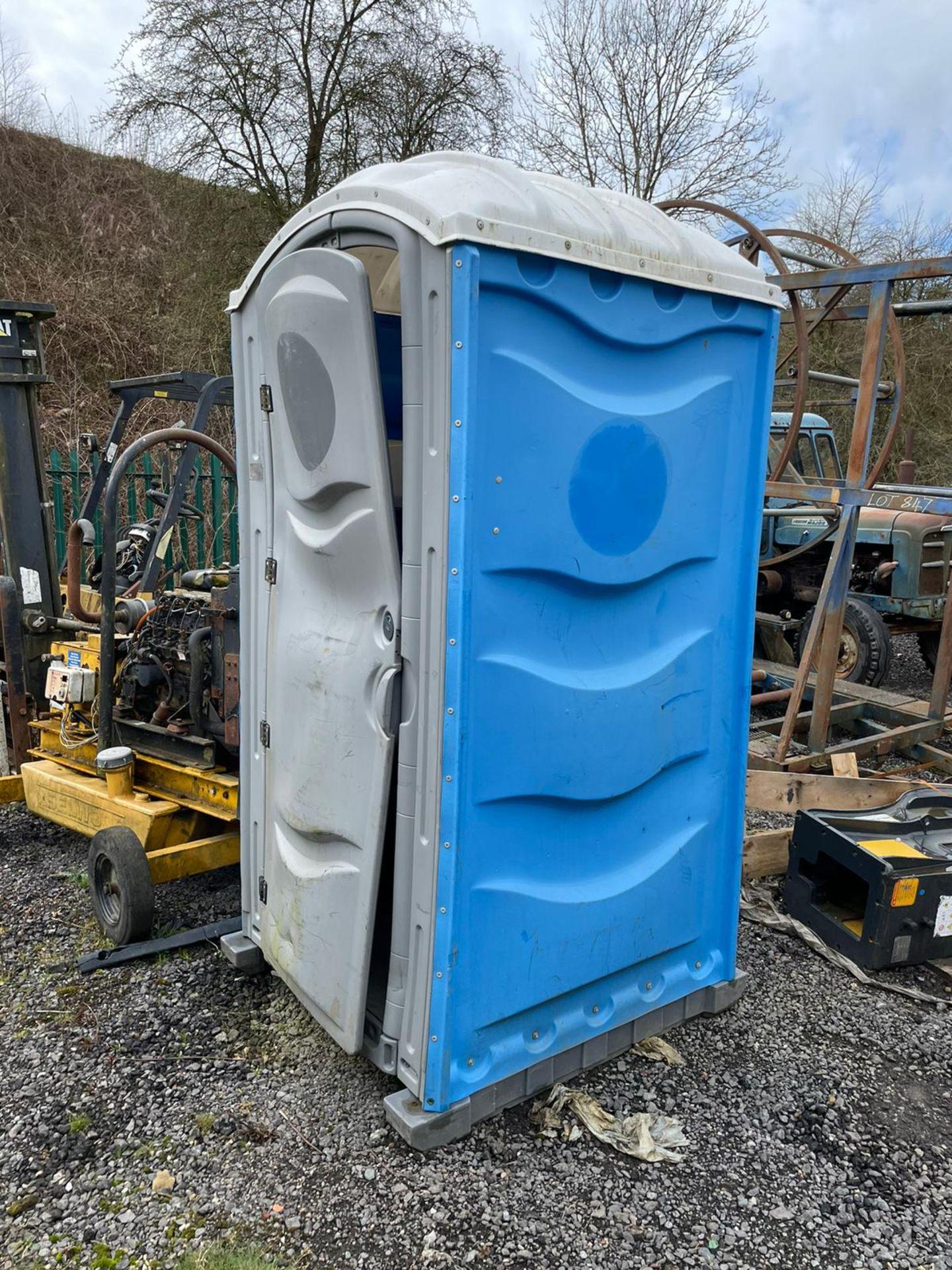 Portaloo Toilet Block, Door Is Bent, plus VAT - Image 3 of 4