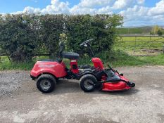 "MOUNTFIELD 4155 4X4 RIDE ON MOWER, RUNS DRIVES AND CUTS, 42"" DECK, HYDROSTATIC, PIVOT STEERED NO VAT"