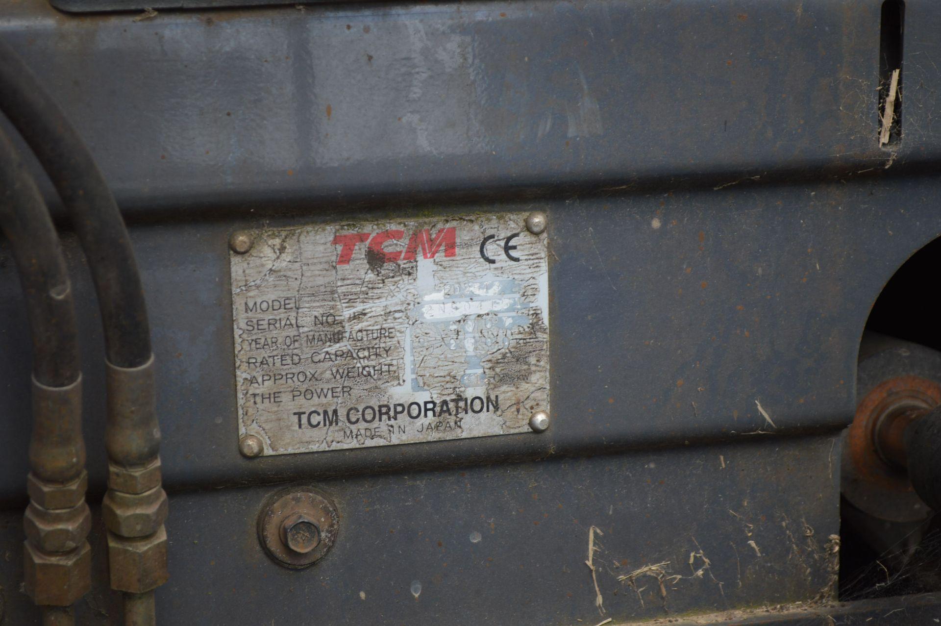 2007 TCM FD25T3 FORKLIFT, 2500KG RATED CAPACITY *PLUS VAT* - Image 4 of 8