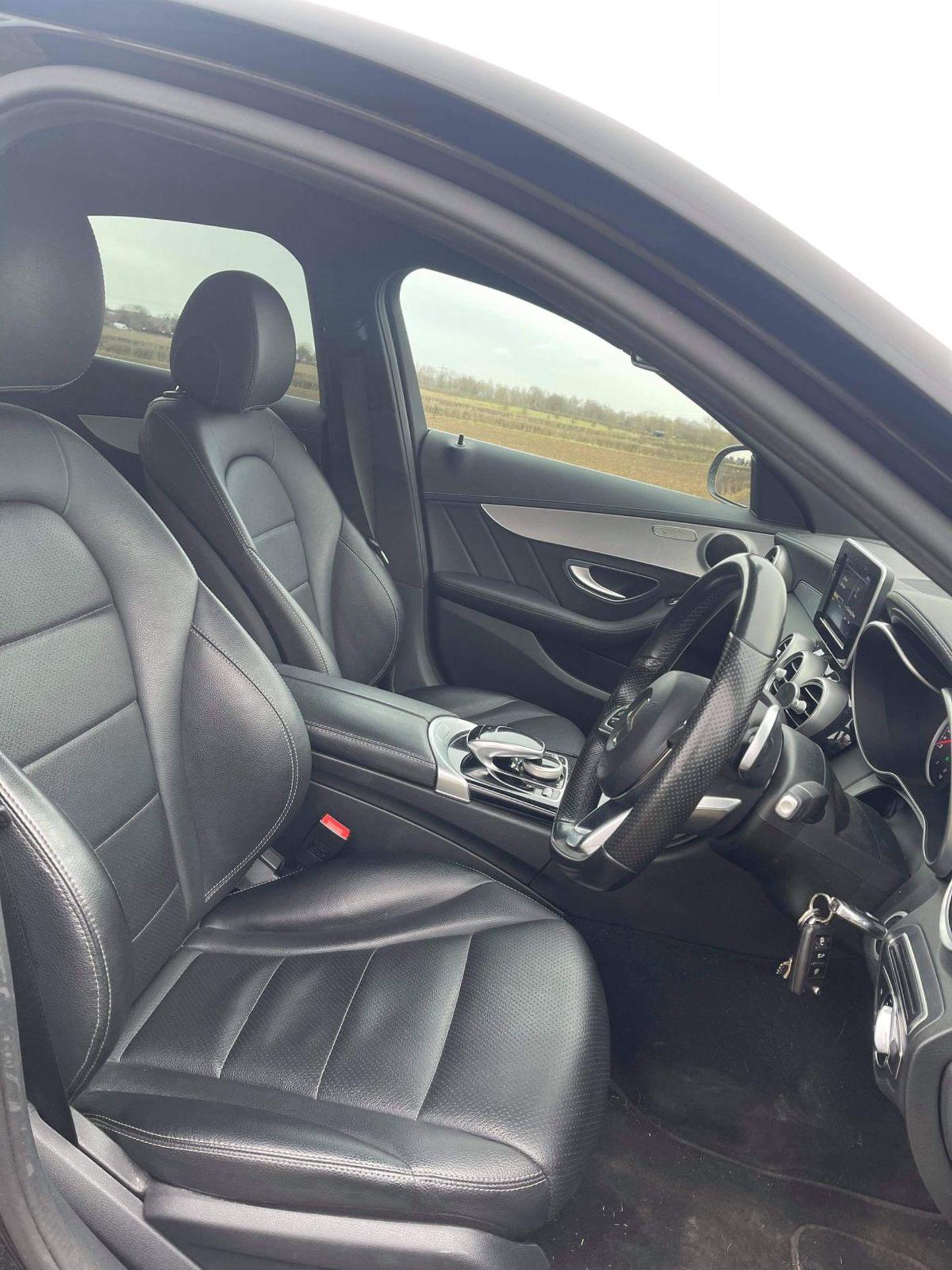 2015 MERCEDES-BENZ C300 AMG LINE BLUETEC HYBRID A, BLACK, AUTOMATIC, ELECTRIC DIESEL, NO VAT - Image 11 of 13
