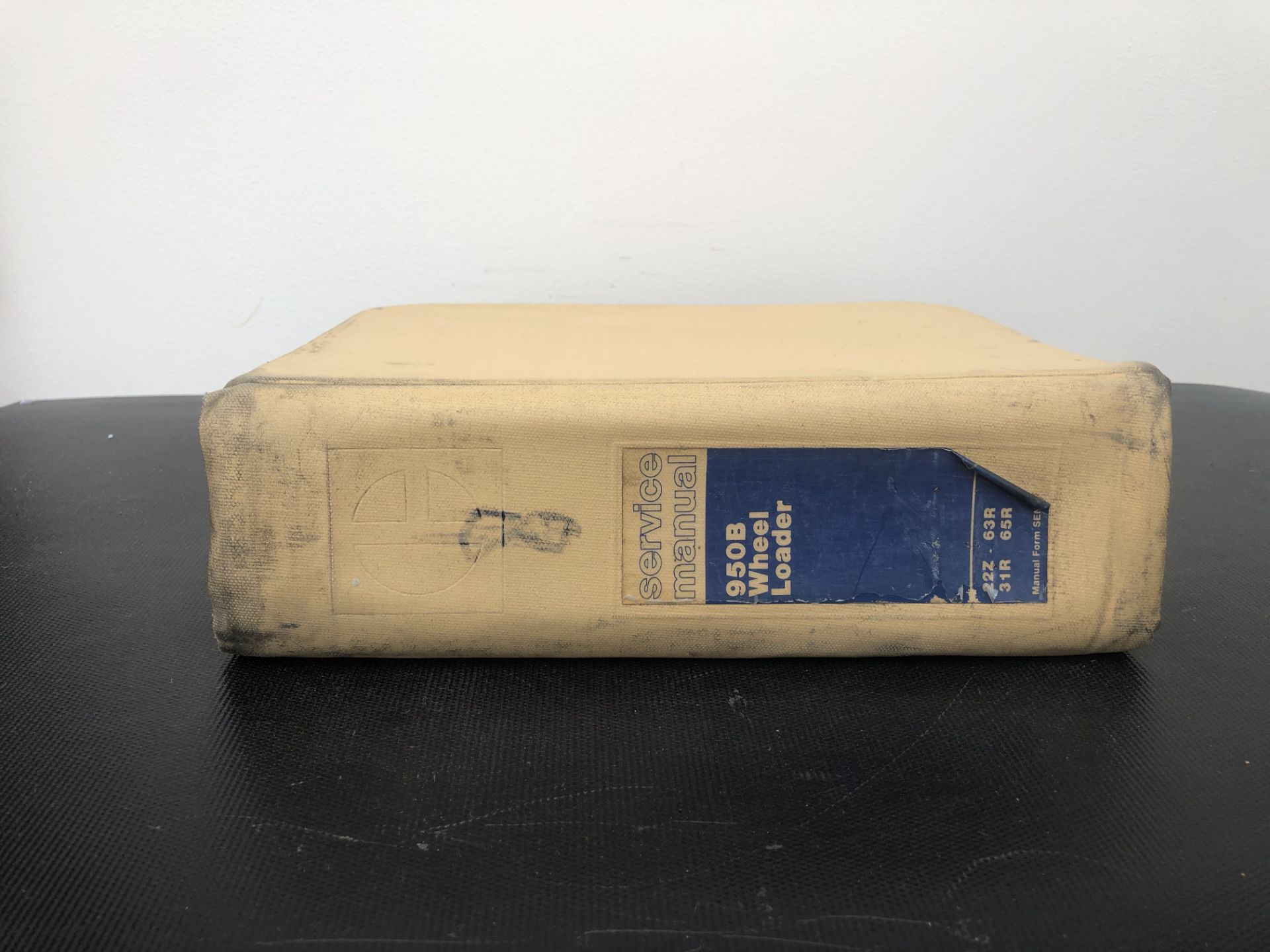 CATERPILLAR 950B BOOK 4 SERVICE MANUAL, GENUINE FACTORY CAT WORKSHOP MANUAL