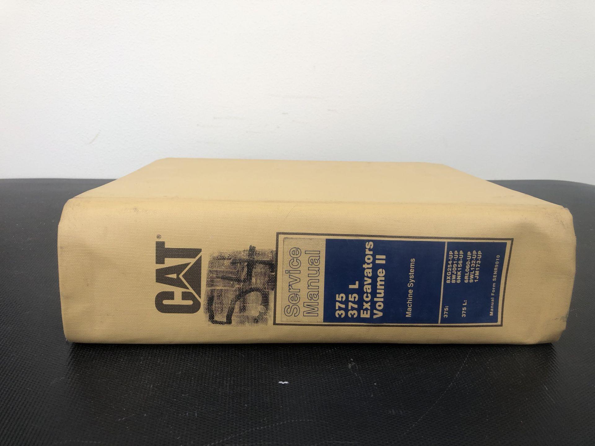 CATERPILLAR 375 375L VOLUME II SERVICE MANUAL, GENUINE FACTORY CAT WORKSHOP MANUAL