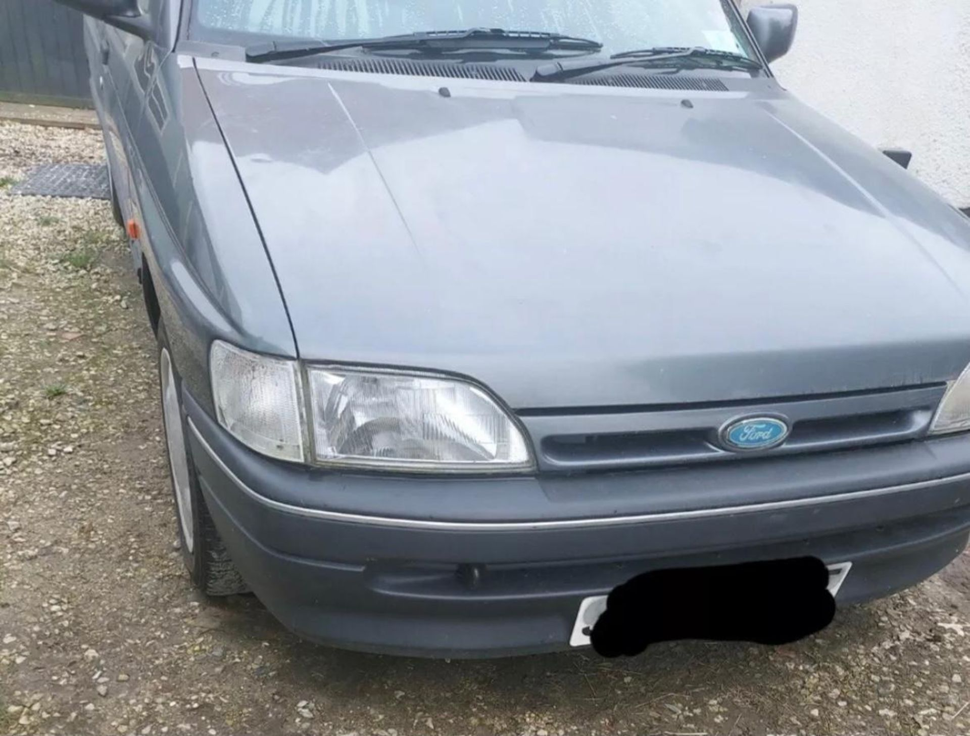 1992 FORD ORION LX AUTO, GREY, PETROL, AUTO VARIABLE 1 GEARS, 4 PREVIOUS KEEPERS, NO VAT - Image 4 of 8