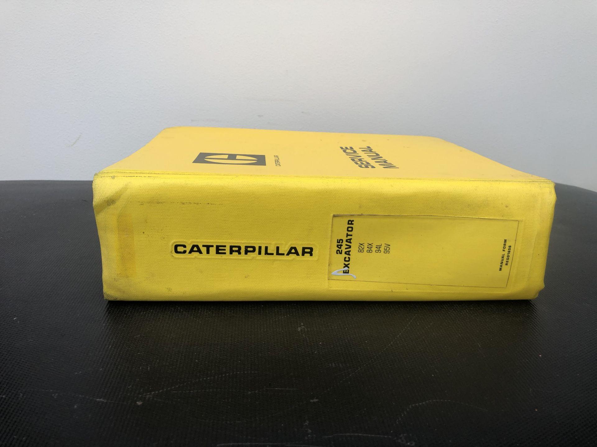 CATERPILLAR 245 SERVICE MANUAL, GENUINE FACTORY CAT WORKSHOP MANUAL